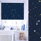 Made To Measure Stars Navy / Night Sky Blackout Thermal Roller Blind