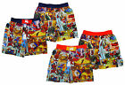 Boy's Marvel Spiderman Comic Swim Mesh Lined Shorts 3 4 6 8 Years NEW