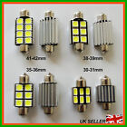 C5w Festoon Led Interior Light Number Plate Bulb 6000k 95% Canbus Free