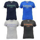 Mens T Shirt Kangol Top Jersey Marl Short Sleeved Crew Neck Casual Summer New