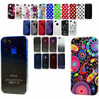 Silicone TPU Gel Bumper Hard Case Cover Sleeve Skin For The Apple iPhone 5 5s