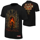 Undertaker Never Summon The Dead WWE Authentic Mens Black T-shirt