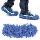 Pair Dust Cleaner House Bathroom Floor Cleaning Mop Cleaner Slipper Shoes Covers