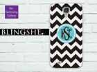 Customised Monogram chevron Samsung Galaxy note 3 case for S3 S4 S5 N2 N3 mn004