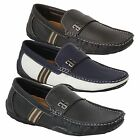 Mens Moccasins Shoes Loafers Deck Style Slip On Comfort Gio Gino Casual Designer