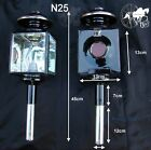 Horse Carriage Coach Lamps Cob Horse Size Brass Or White Metal Trim N25 N25B