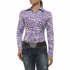 Ariat Women's Berry Button-Down Shirt in Dewberry  10012169