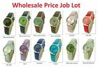 Wholesale Joblot Of Leather Strap Ladies Fashion Watches x6, x10, x25