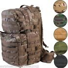 ARMY CADET 40 LITRE RUCKSACK MOLLE TACTICAL DAYSACK BAG HIKING MTP BTP GREEN