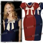 2015 Bow-tie Pinup Gorgeous Maternity V-neck Pregnancy Causal Party Summer Dress