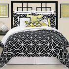 Trina Turk Trellis Black Comforter Pillow Sham Set