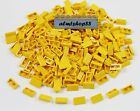 LEGO - Lot of Slopes 30 1 x 2 x 2 3 Yellow Part #85984 Degree Tile Brick Bulk