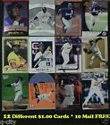 TONY GWYNN _ 12 Different $1.00 Cards _ Choose 1 or More _ 10 Mail FREE in USA
