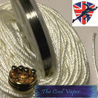 Kanthal A1 Wire 32 AWG (0.20mm) & Slica Wick 1,2 & 3mm, Vape Coil Wire, RBA