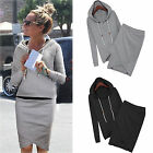 CHIC Women Casual Hoodies Suit Sport Sweatshirt Pullover Tracksuits Sportswear