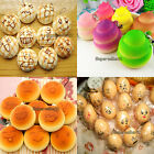 Lovely 15 Style Soft Cute Squishy Bread Keychain Bag Phone Charm Strap Pendant