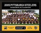 "PITTSBURGH STEELERS Super Bowl XL Champs 8x10"" Plaque 2005 Team Photo Hines Ward"