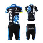 New Men's Sports Clothing Bike Short Sleeve Jersey Bicycle Cycling Shirt Shorts