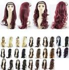 """NEW  24"""" HALF HEAD  REVERSIBLE WIG HAIR PIECE EXT 1/2 HEAD IN 12  COLOURS"""