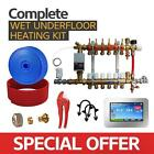 Water Underfloor Heating -Single Room Kit 25m2 with PE-X Pipe Standard Output