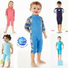 SPLASH ABOUT KIDS SHORTIE WETSUIT NEOPRENE COMBIE 1-6 YEARS SPF50+ SWIM WEAR