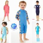 Splash About Baby & Toddler Swimwear/Wetsuit/ UV Combie SPF50 Neoprene 1-6 Years
