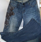 Wrangler - Ladies Rock 47  #WHX78SS-ultra low rise w/ decorative embroidery