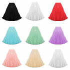 "Womens Ladies New 20"" Luxury Full Swing Vintage 50s Petticoat Under Skirt"