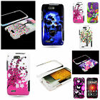 For Motorola DROID 4 XT894 Hard Plastic Snap On Design Cover Protective Case