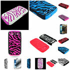 For Samsung Galaxy S3 Zebra Hybrid Hard + Silicone Skin Cover Case