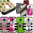 For ZTE Source N9511 Majesty TPU Skin Hard Layer Hybrid Case