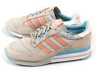 Adidas Originals ZX 500 OG W Classic Shoes Pearl Grey/Dusty Pink/Blue M19357