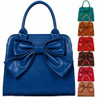 Womens Handbags Ladies Designer Tote Bag Celebrity Style Faux Leather Fashion