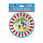 Children's Kids Birthday Party Pirate Paper Plates,Cups,Table Cover