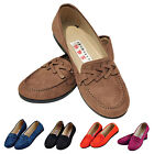 Women Lady Breathable Daily Causal Loafers Boat Shoes Slip-on Lazy Flat Shoes