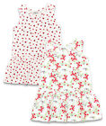 Girl's Toddler Ladybird/Flowers Sleeveless Cotton Summer Dress 2 3 4 Years NEW