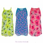 WOMENS LADIES CHIFFON SUMMER BEACH PARTY T SHIRT FLORAL LEOPARD VEST TOP 8-14