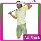 Gone Golfing Costume Golfer Pub Golf Stag Night Mens Fancy Dress Adult Outfit