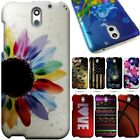 For HTC Desire 610 - Slim Hard Back Shell Protective Design Phone Cover Case