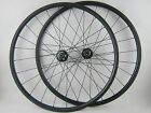 Disc brake 24mm tubular carbon cyclocross bike wheels 20.5/23/25mm width