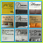 LARGE BEDROOM CHILDREN WALL QUOTES CHOICE 9  STICKERS TRANSFER DECAL