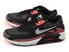Nike Air Max Lunar90 BR Breeze Running Shoes Black/Silver-Hot Lava 724078-002