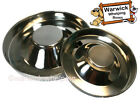 Puppy Feeding Weaning Bowl Saucer Medium or XL Whelping Stainless Steel