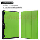 """Ultra PU Leather Case Cover For Lenovo Tab 2 A10-70 10"""" Android Tablet+Pen+Film"""