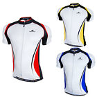Men's Cycling Bike Short Sleeve Top Shirt Riding Bicycle Sportwear Jersey M-2XL