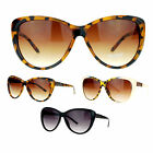 SA106 Retro Womens Diva Oversized Cat Eye Style Butterfly Sunglasses