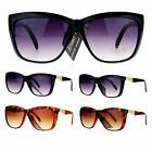 SA106 Retro Diva Womens Oversize Cat Eye Butterfly Plastic Sunglasses