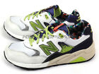 New Balance MRT580HC D White & Green & Beige Lifestyle Classic Casual Shoes NB