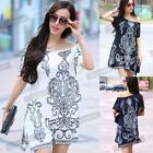 2015 Vintage bohemian Casual Shirt Women Summer Plus Size Ice Silk Blouse NB85