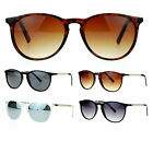 SA106 Thin Metal Chain Arm Retro Keyhole Horn Rim Sunglasses